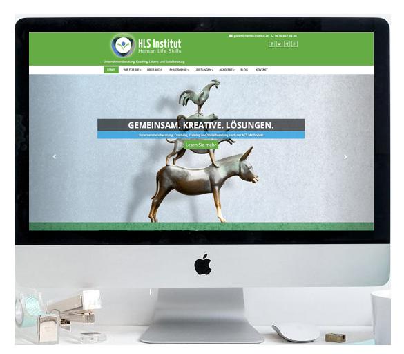 iMac Webdesign