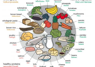 Nahrungsmittelgruppen
